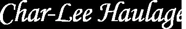 Char-Lee Haulage